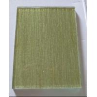生产夹丝夹绢艺术玻璃