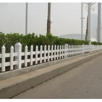 张家口围栏 pvc护栏定做 绿化围栏