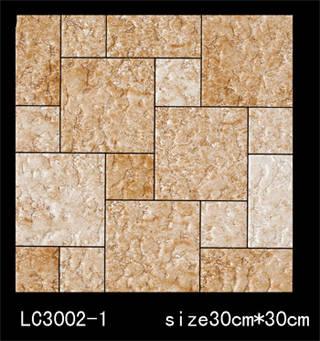 喜得龙陶瓷单片抛金丝系列 lc3002-1图片