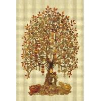 马赛克背景墙--金钱树系列