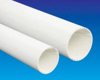 是易迈得管业-PVC-U排水管材、管件系列-PVC-U空芯螺旋管材的