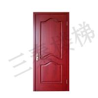 原木门110|陕西三秦木门楼梯