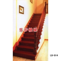 南京楼梯-南京乐步楼梯-实木楼梯-LB-014