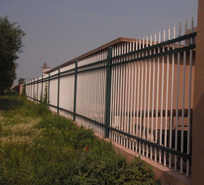 工厂学校用铝合金围墙护栏