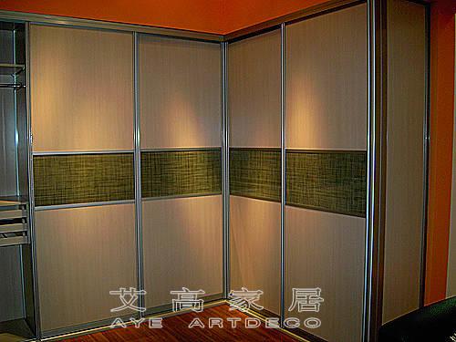 艾高框架衣柜产品图片