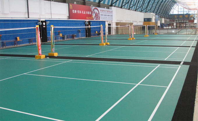 厦门羽毛球地板/厦门PVC运动地板