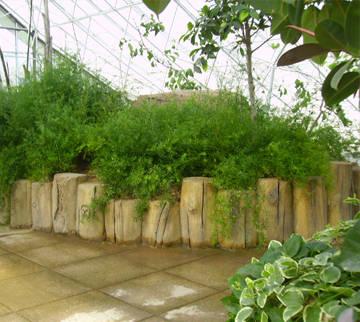 成都仿木-仿木栏杆-仿木木桩