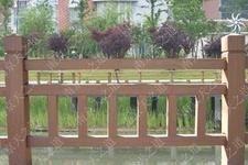 成都GRC仿木-仿木栏杆