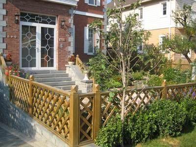 防腐木庭院花园设计图05