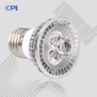 LED灯杯第一品牌E27【CPL灯杯】3×1W大功率航空铝散
