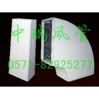 耐酸抗压彩钢复合风管 彩钢聚氨酯风管