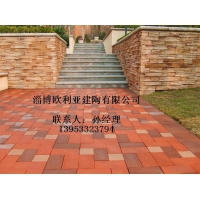 人行道砖 OLY烧结广场砖 铺路砖
