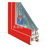 节能环保型玻璃钢推拉窗样角
