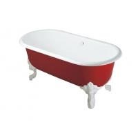 科勒 洁具 独立式铸铁 浴缸 K-11195T-RF+K-1