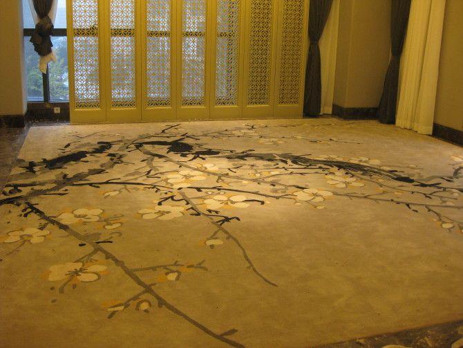 中式风格卧室地毯产品图片