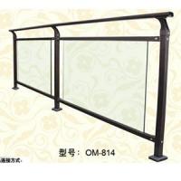 B型羊角弯头玻璃阳台(鸥美锌钢)