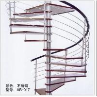 旋转钢木楼梯,旋转楼梯, 钢木楼梯,