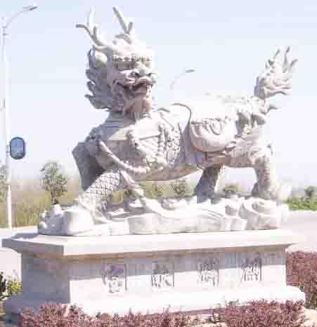供应麒麟,狮子,辟邪等吉祥动物雕刻