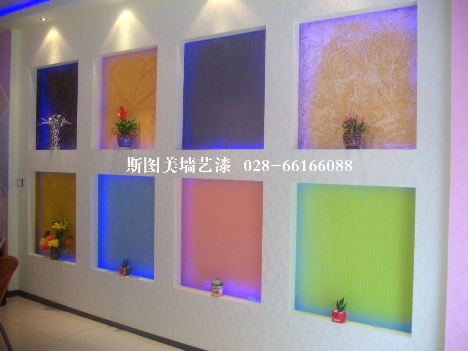 成都进口艺术涂料,仿大理石漆,马来漆等工程承接材料批发