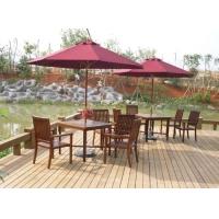 南宁户外休闲桌椅、木桌椅、广西公园桌椅