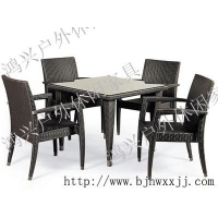 户外桌椅,藤编桌椅,休闲桌椅,阳台桌椅
