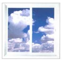聚创塑钢门窗-白玻推拉窗