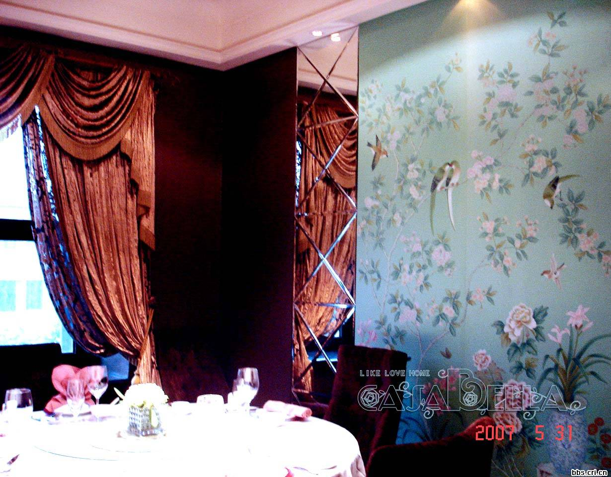 手绘壁纸产品图片,手绘壁纸产品相册 - 北京金石美成