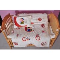 柳州幼儿园床上用品 广西纯棉被单、被套