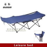 国勤休闲床/折叠床/行军床/沙滩床/户外用品