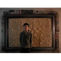 天津酒店公寓砂岩浮雕雕塑