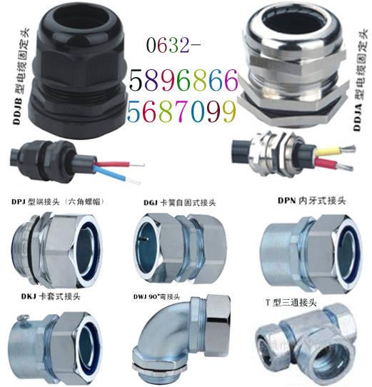 DDJA葛兰主体采用锌合金或铜加工,表面镀硬铬处理,可选用此接头将电缆锁紧,并牢靠的固定在设备或箱体上,订货请注明连接螺纹及电缆外径尺寸。例:DDJA葛兰M241.5-14,固定螺纹M241.5,电缆外径¢14mm。
