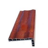 佛山PVC门套线条厂|塑钢封边条|模压板门门套线条|广东木塑