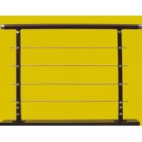 瑞王楼梯-精品围栏系列-扁钢拉丝柱子