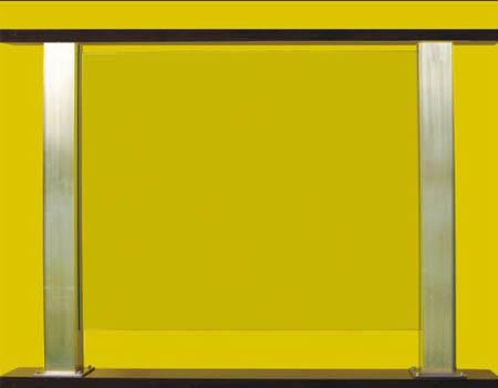 瑞王楼梯-精品围栏系列-不锈钢嵌玻璃柱子