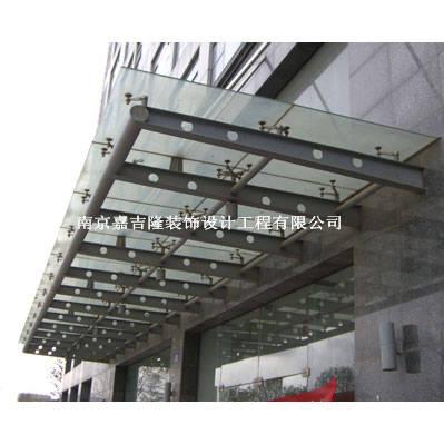 南京不锈钢雨篷-不锈钢雨篷1