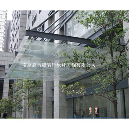 南京不锈钢雨篷-不锈钢雨篷2