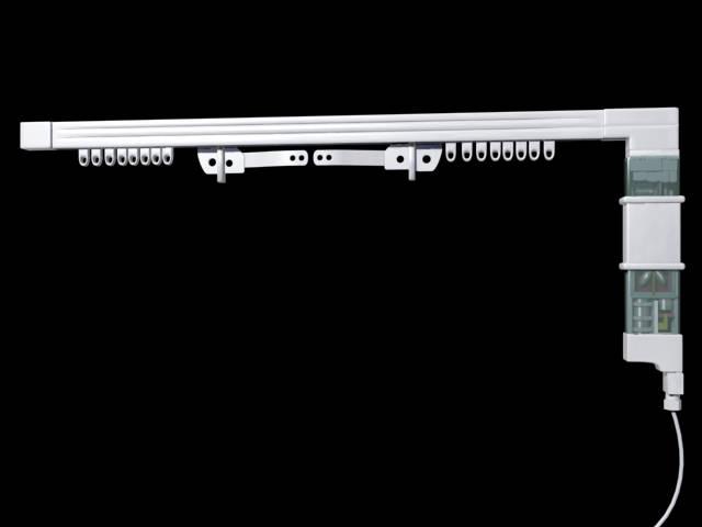 材质 合金  颜色 白色  类型 电动  辅件 电机 遥控器 电线  适用窗帘