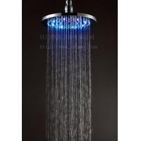 LED铜花洒,LED淋浴花洒顶喷,不锈钢顶喷有专利