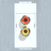 陕西西安Bticino RCA型音频插座