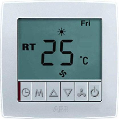 带液晶显示温控器-abb开关插座|陕西西安tcl