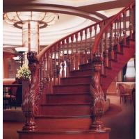 南京楼梯-南京实木楼梯-南京轩步楼梯-实木木楼梯-HY065