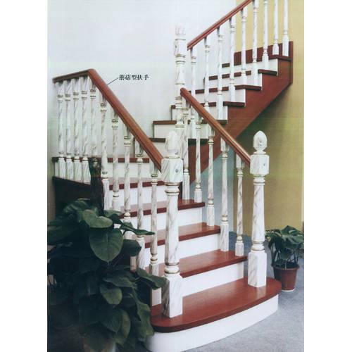 南京楼梯-南京实木楼梯-大发彩票-实木楼梯-HY079