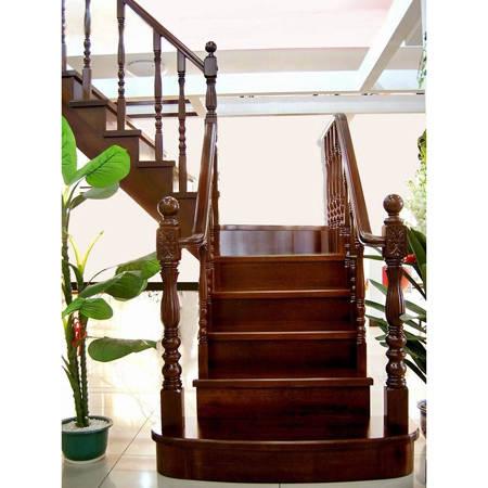 南京楼梯-南京实木楼梯-大发彩票-实木木楼梯-HY051