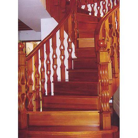 南京楼梯-南京实木楼梯-大发彩票-实木木楼梯-HY057