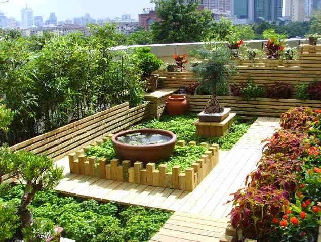 木围栏),园林景观木制小品(花架,花池,木桥,木栈道,廊架,亭子)的设计