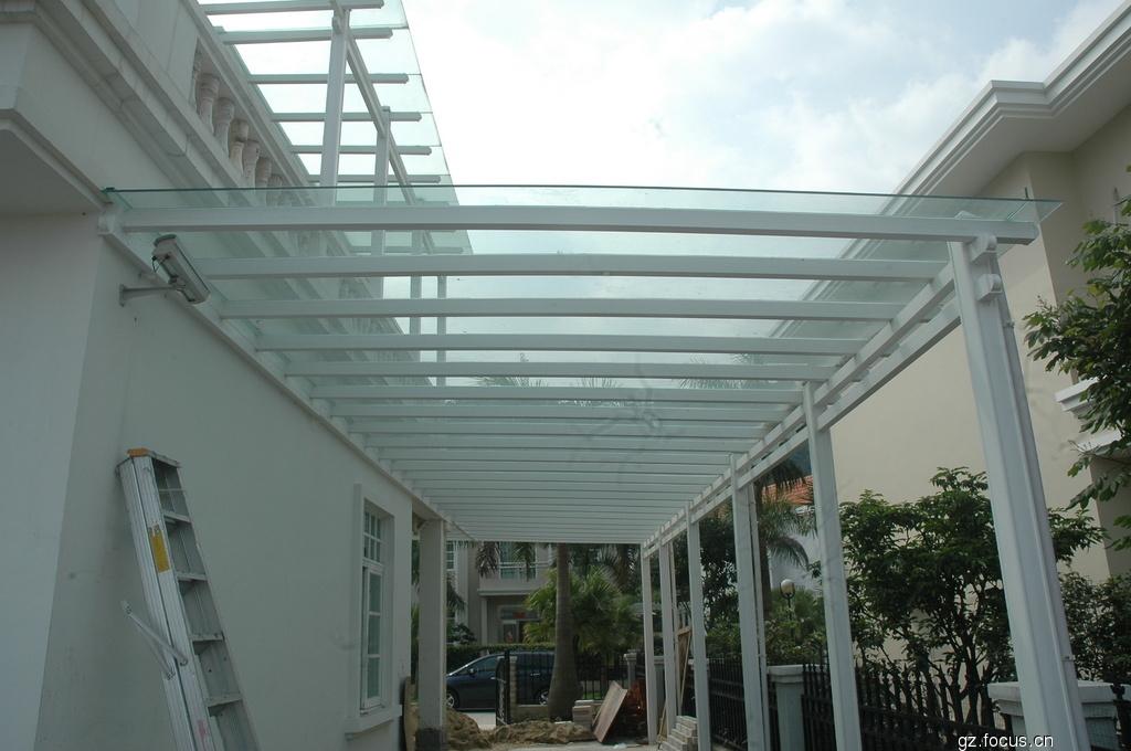 雨棚 钢结构雨棚 深圳雨棚