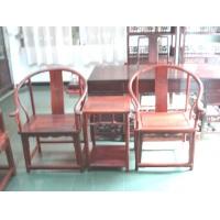小叶紫檀圈椅