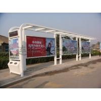 钢结构、候车亭、灯箱、公交车站候车亭