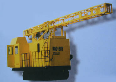 KQG150Y露天履带式高风压潜孔钻机