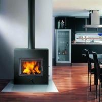 巴比龙真火壁炉-真火燃木壁炉-嵌入式-大威廉